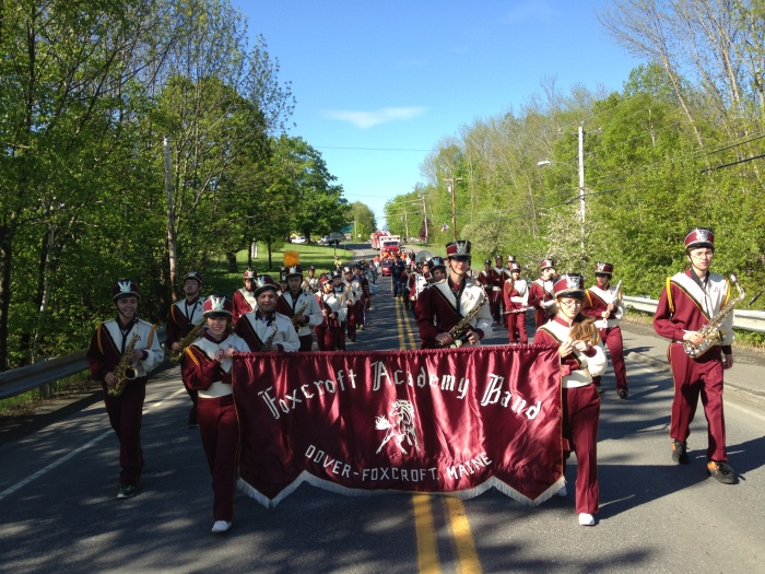 The Incredible Foxcroft Academy Band